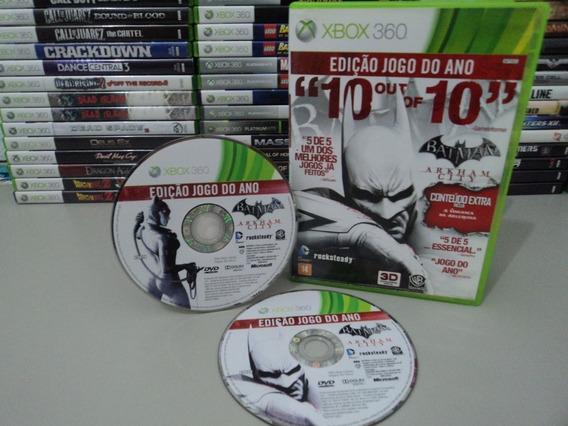Batman Xbox 360 Arkham City Jogo Original Barato