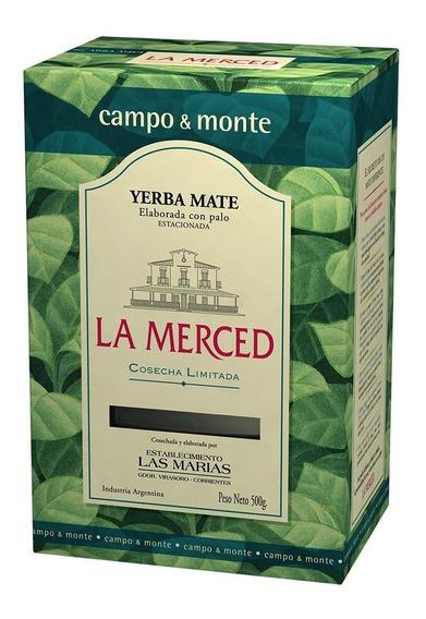 Yerba La Merced 500 G Bulto Por 6 Uds (4 Gustos)