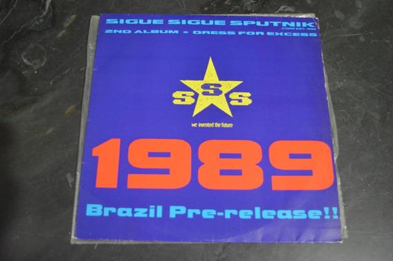 Sigue Sigue Sputnik Dress For Excess Brazil Pre Release Lp