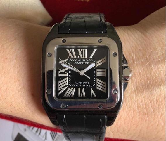 Relógio Cartier Feminino Santos 100