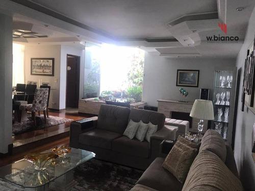 Casa Com 3 Dormitórios À Venda, 200 M² Por R$ 1.280.000 - Jardim Do Mar - São Bernardo Do Campo/sp - Excelente Área Comercial - Ca0290