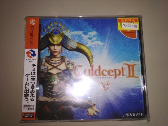 Jogo Dreancast Original - Culdcept. 2 - Com Spine Jap