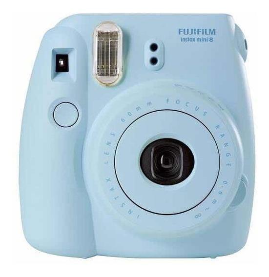 Câmera Instantânea Instax Mini 8, Fujifilm, Azul