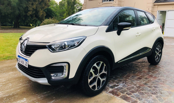Renault Captur Intens Cvt Automatica 2019 7500km Como Nueva!