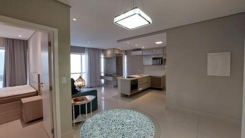 Imagem 1 de 21 de Apartamento Com 1 Dormitório Para Alugar, 66 M² - Aparecida - Santos/sp - Ap10590