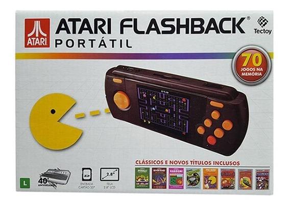 Console Atari Flashback Portátil Com 70 Jogos Tectoy