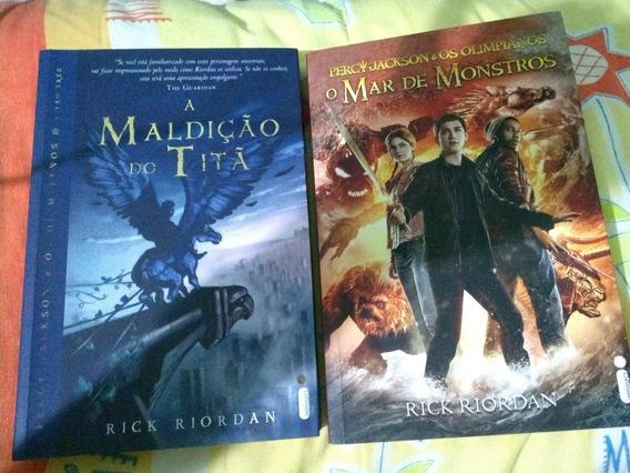 Dois Livros Percy Jackson
