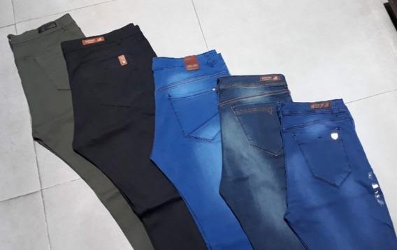 Jeans Talle Especial Hombre Elastizados Del 50 Al 60