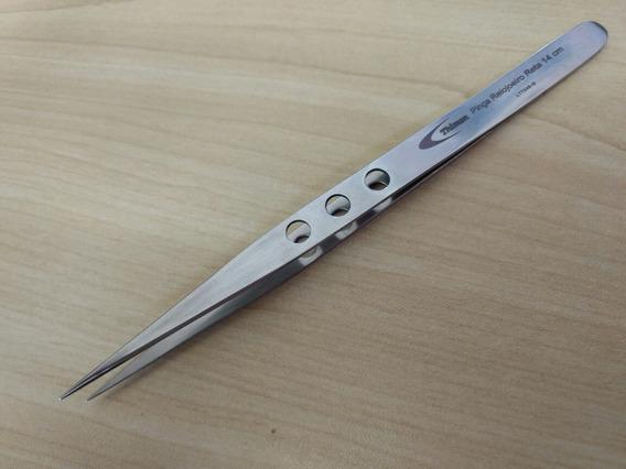 Pinça Para Relojoeiro Em Aço Inox