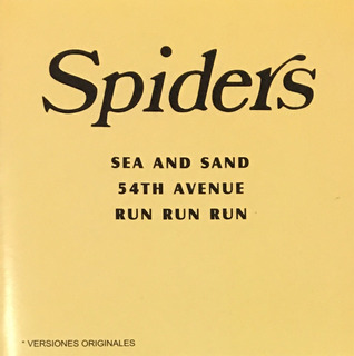 Cd The Spiders Run Run Sea And Sand Mar Y Arena Nuevo