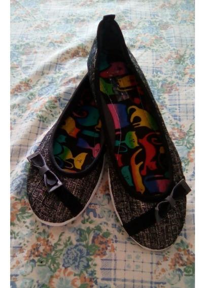 Zapatillas Casuales/zapatos Bajos/planos/flats De Dama