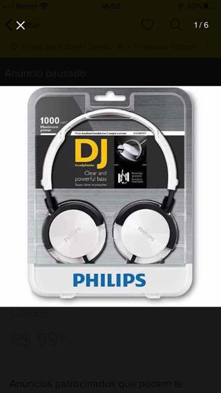 Head Phone Philips