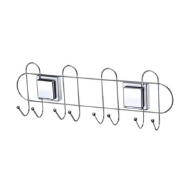 Porta Vassouras Com Esferas E Com Ventosas Fixa