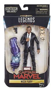 Marvel Legends Series Cap Marvel Nick Fury Original.. Replay