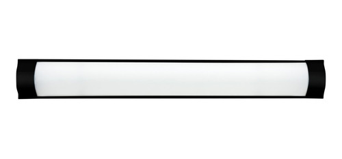 Luminaria Linear Sl1070132 Fina 36w 6000k Preta Skylux Sl107