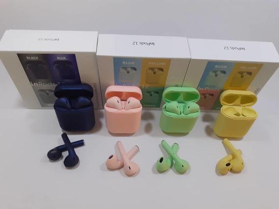 Audifonos I12s Mini Tws Inalambricos Bluetooth Tipo Airpod