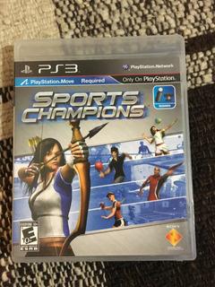 Sport Champions Juego Físico Ps3 Original En Su Caja