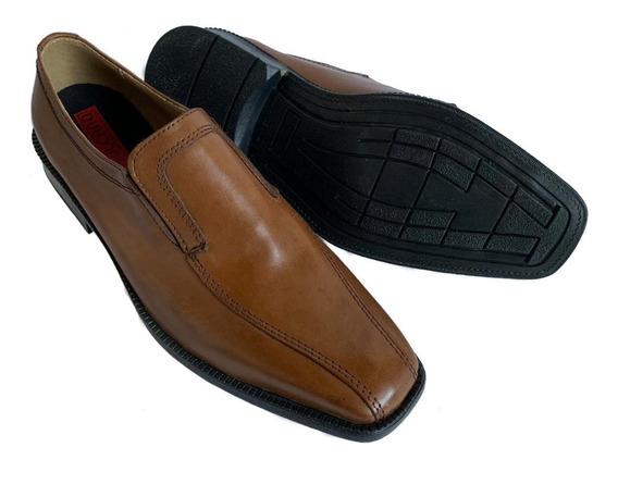 Zapatos Vulcano 100% Cuero Suela Sin Cordon