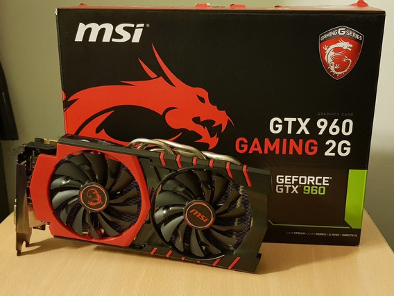 Placa Video Msi Geforce Gtx 960 Gaming 2g En Caja Original