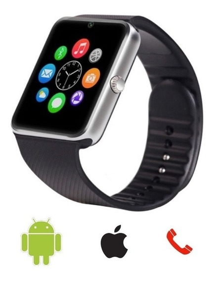 Reloj Inteligente Smart Watch Gt08, Acepta Sim, Premium