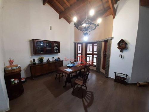 Imagem 1 de 30 de Chácara Com 3 Dormitórios À Venda, 1080 M² Por R$ 850.000 - Jardim Leonor - Itatiba/sp - Ch0339