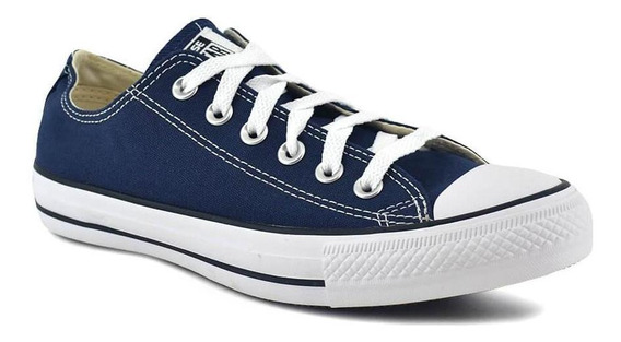 Zapatilla Converse Unisex All Star Ox Azul/negro/blanco
