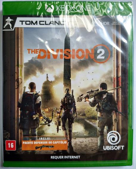 Jogo Tom Clancys The Division 2 Xbox One Midia Fisica Original Novo Lacrado