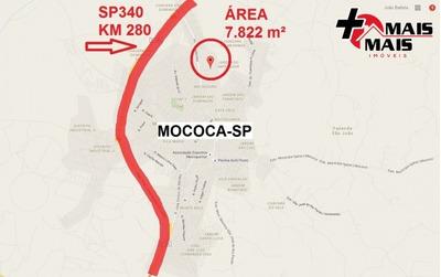 Mococa - Área 7822 M², Ideal P Loteamento, Chácara Ou Sítio - Mais1950