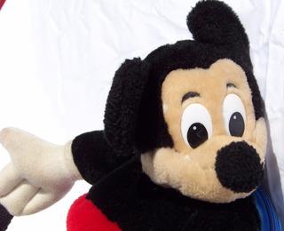 Muñeco - Mochila - Peluche Mickey Con Mochila - La Plata
