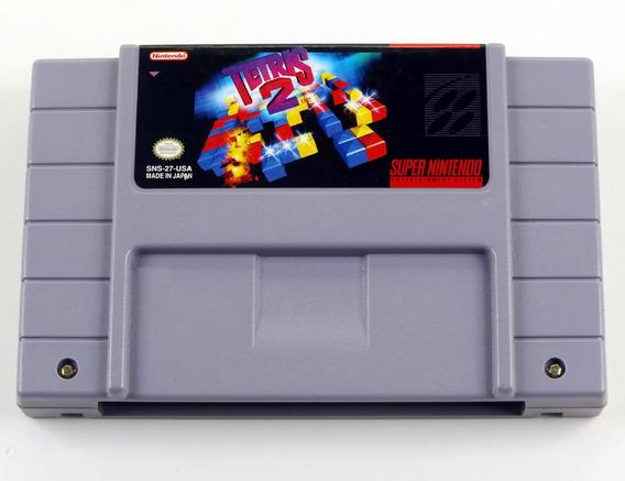Tetris 2 Original Super Nintendo Snes