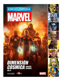 Enciclopedia Marvel Nº 64 Dimension Cosmica Vol. 04