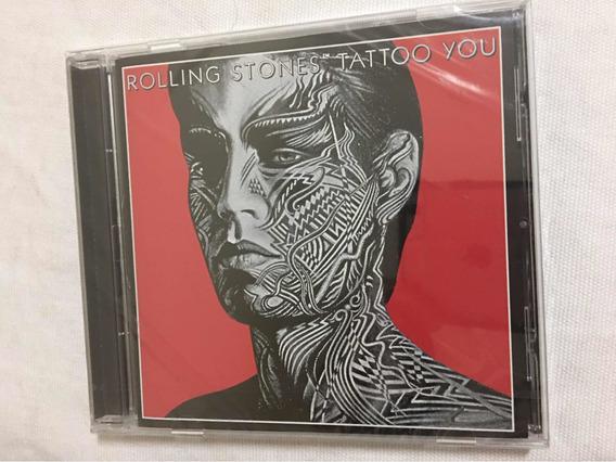 Cd Rolling Stones Tattoo You Lacrado Novo Europe