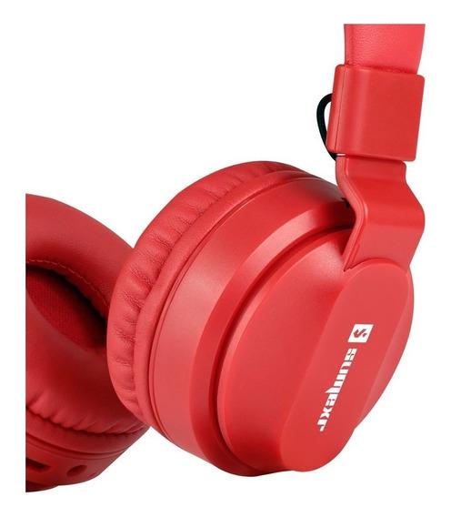 Fone Ouvido Sem Fio Sly11 Stereo Qualidade Esportes Vermelh3