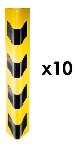 Protector Esquinero Para Vehículo - Amarillo X 10 Unidades