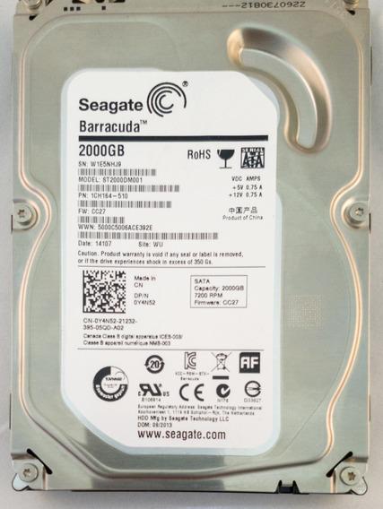 Hd Seagate Barracuda 2tb St2000dm001