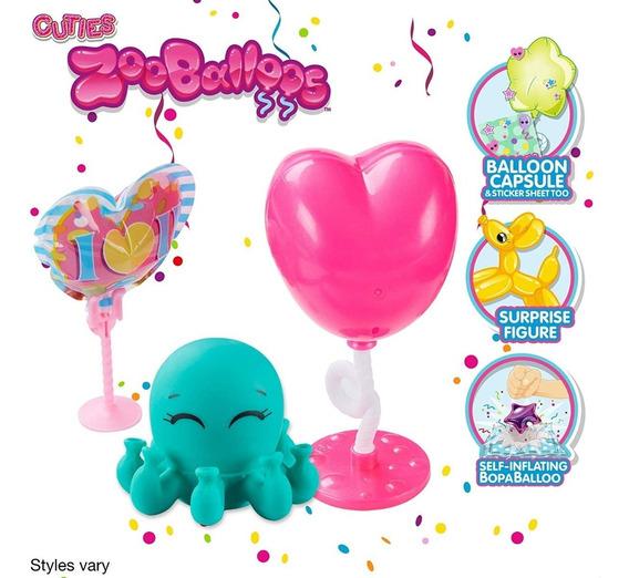 Zooballoos Juguete Squishy Globo Sorpresa Original Squishies