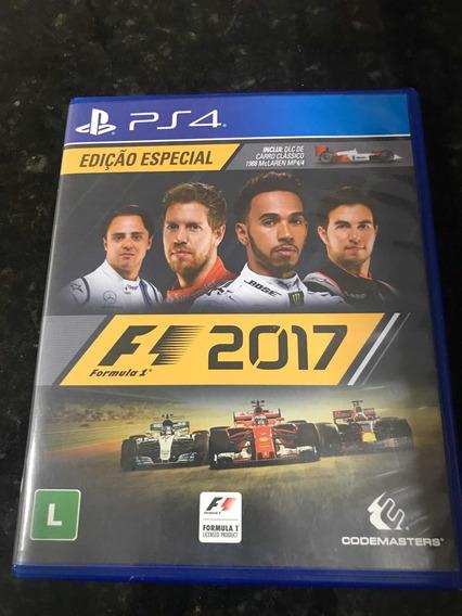 Jogo Ps4 F1 2017 Original Mídia Física Fórmula 1 Especial