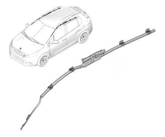 Bolsa Air Bag Cortina Izq Peugeot 208 1.6 Thp 200cv
