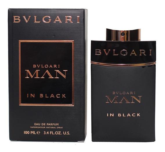 Perfume Bulgari Man In Black 100ml Edp 100% Original
