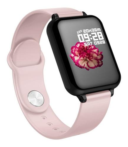 Smartwatch B57 Homens Mulheres Ip67 Relógio À Prova D 'água