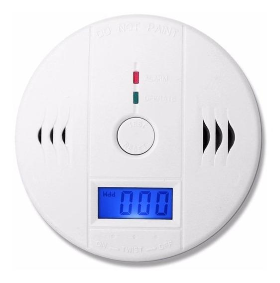 Detector De Incêndio Fumaça Monóxido Carbono Alarme Sensor