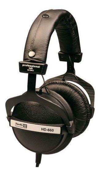 Fone Superlux Hd660 Profissional Estúdio