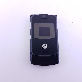 Celular Motorola Razr V3 Black (funcionando) 3