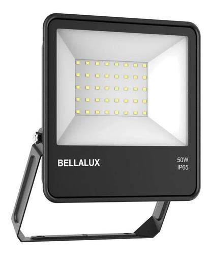 Imagen 1 de 9 de Proyector Reflector Led Bellalux 50w Luz Fría Exterior