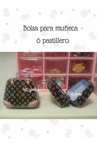 Bolsa Para Muñeca, Barbie, Blythe O Similares