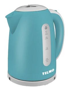 Pava Electrica Yelmo Pe-3909 1,7 Lts Color Celeste 2200w Pc