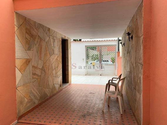 Sobrado Com 3 Dormitórios Para Alugar Por R$ 2.100/mês - Rudge Ramos - São Bernardo Do Campo/sp - So0411