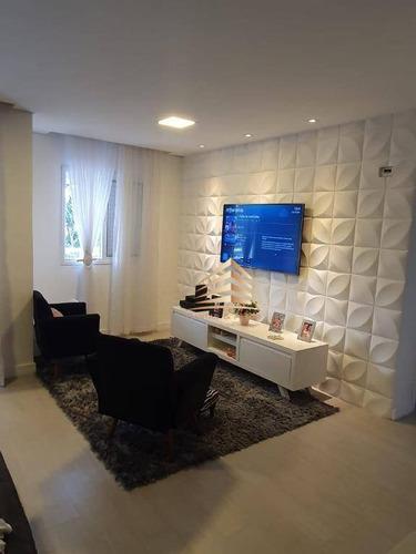 Apartamento No Condomínio Enjoy, Vila Augusta, 2 Dormitórios, 1 Suíte, 2 Vagas. - Ap0986