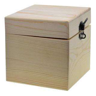Caja De Almacenamiento O Regalo, De Madera Modelo A002.