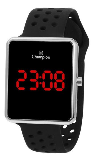 Relógio Champion Feminino Ch40081t Digital, Quadrado, Led